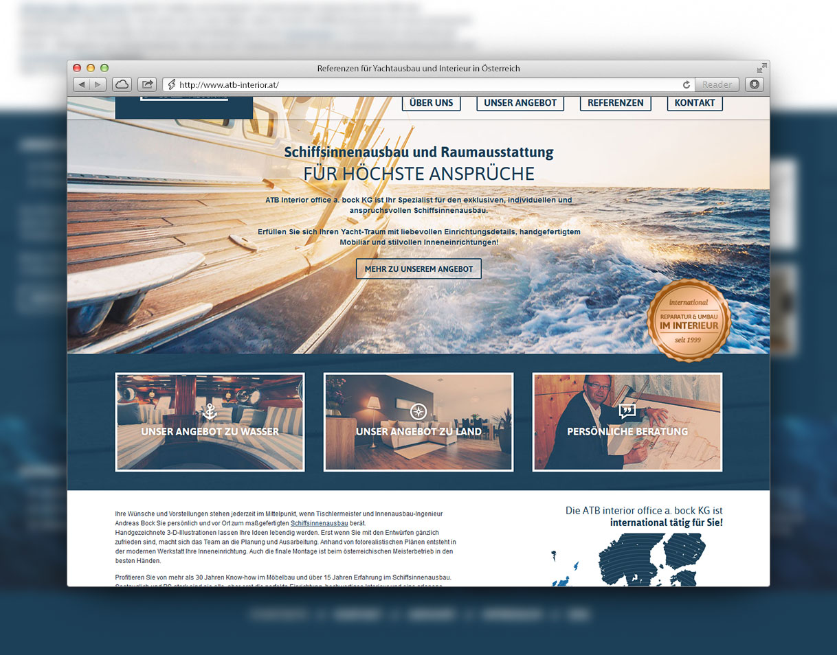 Webdesign und Webentwicklung von Konrad Rolof aus Berlin