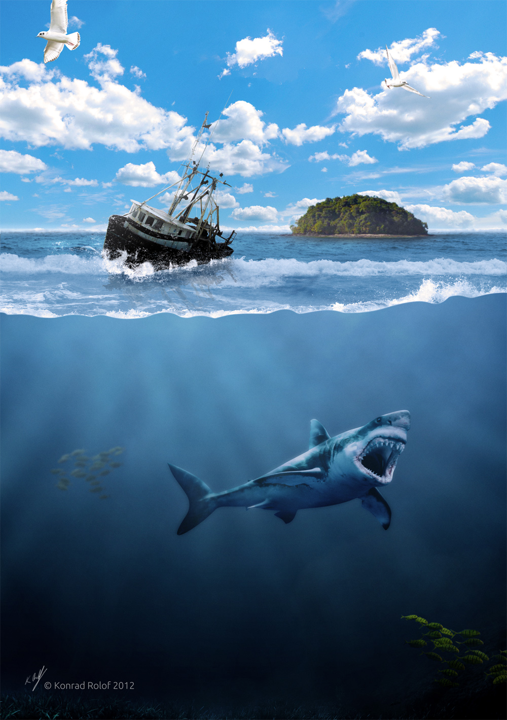 Composing Deep blue Sea