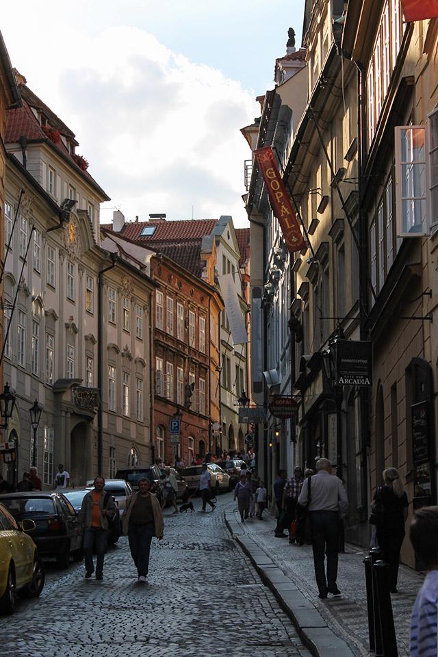 Prag voller Leben