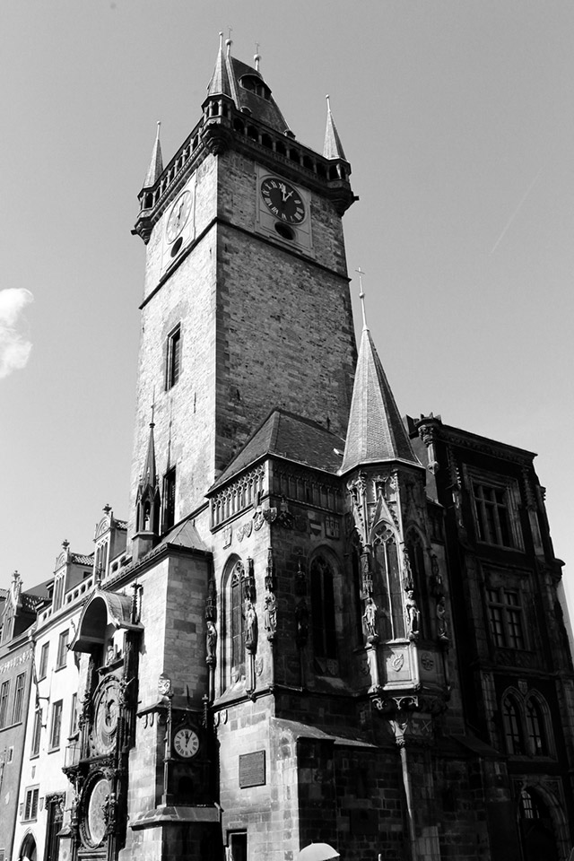 Historische Architektur Prag