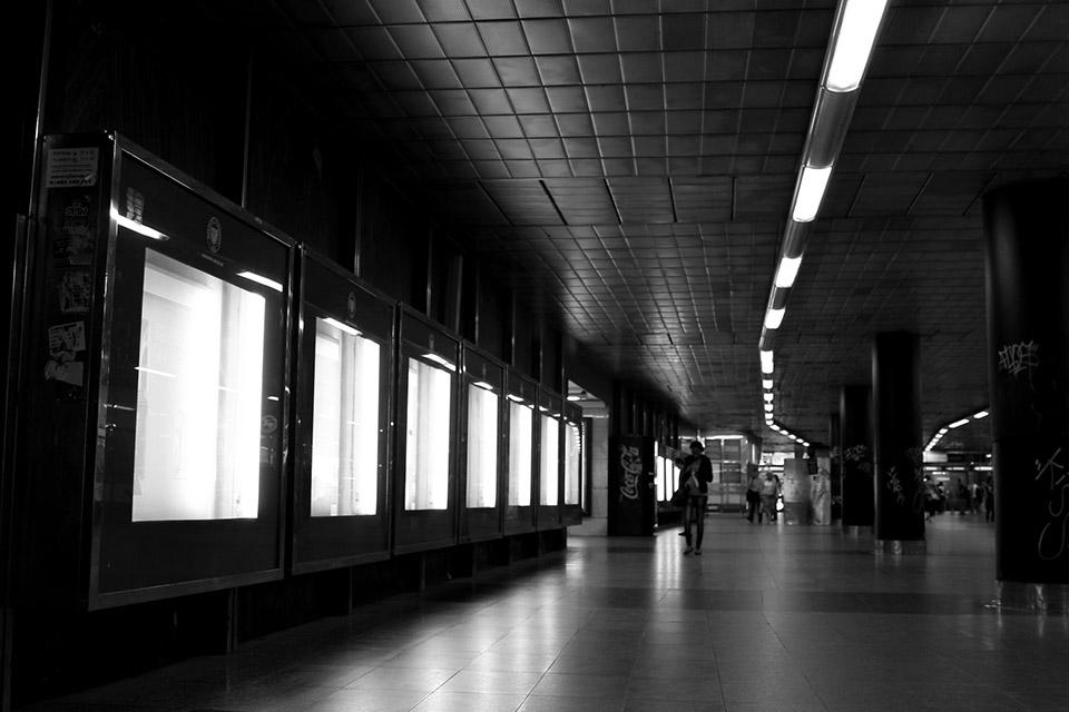 Im Untergrund von Prag