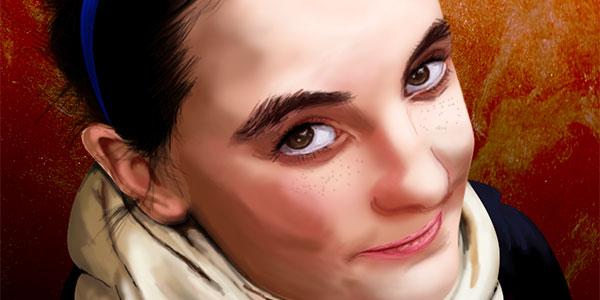 Vorschau Digital Painting Sister