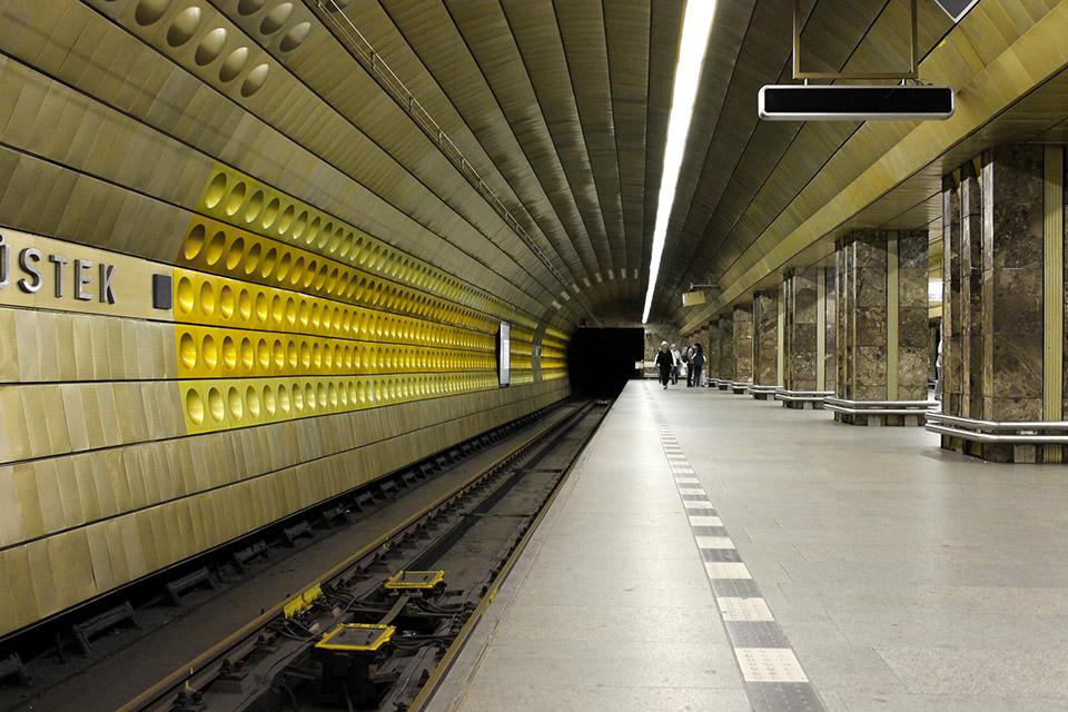 Prager U-Bahn-Station