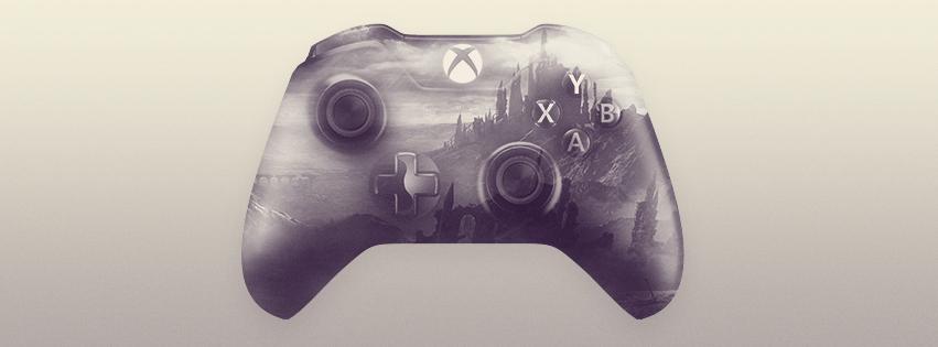 Xbox One Controller Double Exposure